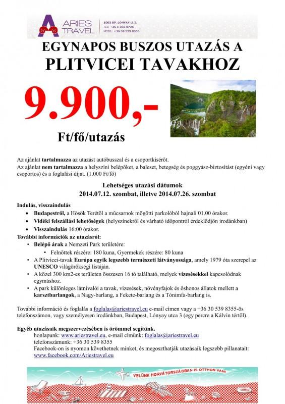 Plitvicei-tó