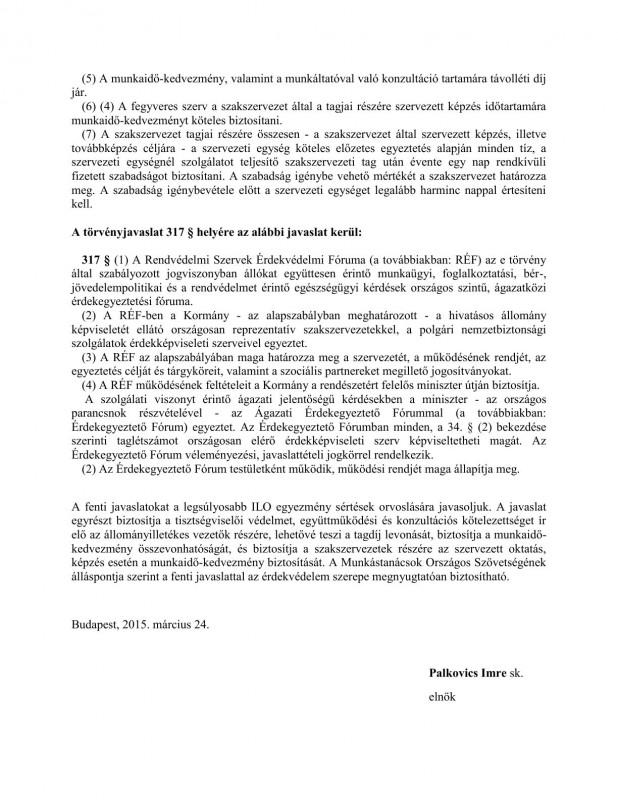 szakszervezeti jogok javaslat HOB6